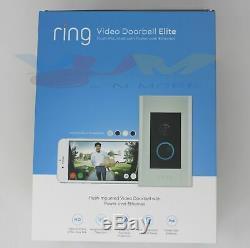 Ring Video Doorbell Elite 8VR1E7-0EN0 1080HD 2-Way Talk