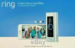 Ring Video Doorbell PRO 1080p WiFi Doorbell Pro NEW FACTORY SEALED