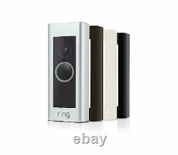 Ring Video Doorbell Pro 1080p Live Security Camera Infrared Record Two-Way Talk