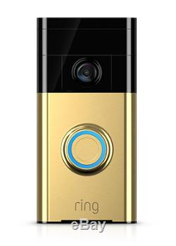 Ring Wireless Video Doorbell WiFi Intercom Camera Recording Smart Home, Wink
