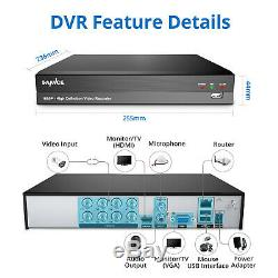 SANNCE 8CH 5IN1 CCTV 1080P Digital Video Recorder Surveillance Secuirty Kit 1TB