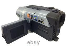 SONY DCR-TRV140E Digital 8 Video Camera Recorder Bars on Playback