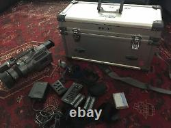 SONY DCR-VX1000 Digital Video Camera Recorder 3ccd With Original Hard Case Tested