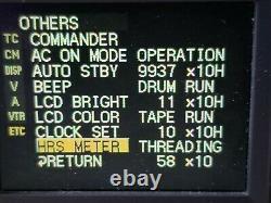 SONY DSR-25 DIGITAL VIDEO CASSETTE RECORDER DVCAM Mini dv NTSC PAL 110 220V