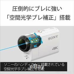 SONY FDR-X3000 Digital 4K Video Camera Recorder Action Cam JAPAN NEW F/S