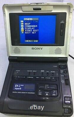 SONY GV-D800E PAL Digital8 Hi8 8mm Video8 Player Recorder Video Walkman VCR Dec