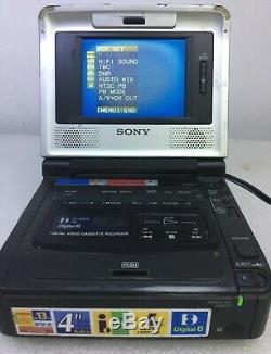 SONY GV-D800E PAL Digital8 Hi8 8mm Video8 Player Recorder Video Walkman VCR Deck