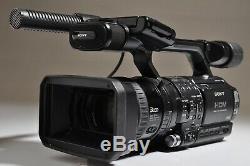 SONY HVR-Z1U Digital HD Video Camera Recorder AS IS