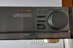 SONY Video Hi8 EV-S1000E Video Cassette Recorder PAL/SECAM Digital Stereo