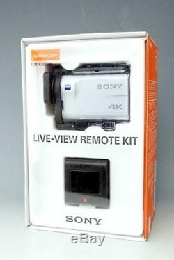 SONY digital 4K HD video camera recorder action cam FDR-X3000R White Japan Model