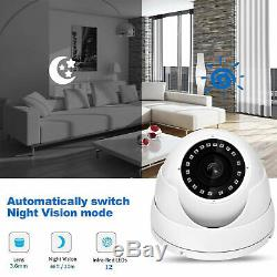 Smart 4/8/16 Channel Cctv Dvr Digital Video Recorder Security System Kit+1/2 Hdd