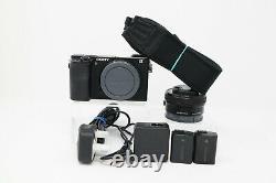 Sony A6300 24.2MP 4K Digital Camera (6,684 Shots Taken) with 16-50mm lens