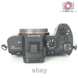 Sony A7r Mark II Digital Camera Body VERY LOW SHUTTER COUNT