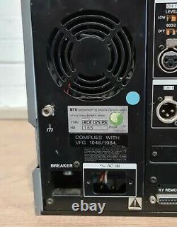 Sony Betacam Editor BCB-D75 Digital Betaxcm Recorder Read