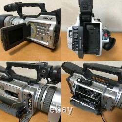 Sony DCR-VX2000 Digital Video Camera Recorder Metallic Silver Junk for parts
