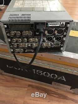 Sony DSR-1500A DVCAM Digital Video Cassette Recorder Editing Deck Drum