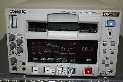 Sony DSR-1500A Digital Video Recorder DVCam MiniDV SDI Very Low Hours