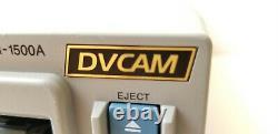 Sony DSR-1500 DVCAM Digital Video Cassette Recorder FIREWIRE port for tape