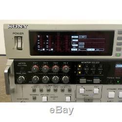 Sony DSR-2000A DVCAM Player/Recorder Digital Video Cassette Recorder