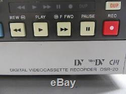 Sony DSR-20 DVCAM/MiniDV Digital Video Cassette Recorder/Player