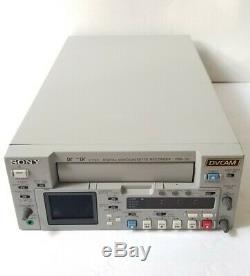 Sony DSR-25 Digital Video Cassette Recorder MINI DV, DVCAM 16x10 DRUM HRS ONLY
