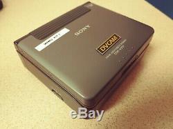Sony DSR-V10P PAL Mini DV & DVCAM digital Video cassette Recorder player Walkman