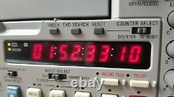 Sony DVCam DSR-45 Digital Video Recorder FIREWIRE PORT 1394 6x10 DRUM HRS
