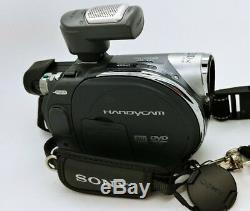 Sony DVD Handycam Digital Video Camera Recorder DCR-DVD755E 800x good working