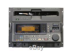Sony DVR-2000 R DEF1 Digital Videocassette Recorder Rails