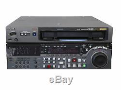 Sony DVW-2000P DEF6 Digital Betacam Studio Video Cassette Recorder