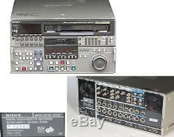 Sony DVW-500P Digital Betacam pro Digital Video Recorder 12583 #L203