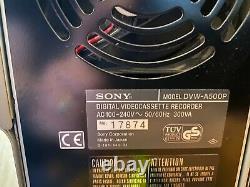 Sony DVW-A500P Digital BetaCam Studio Video Recorder