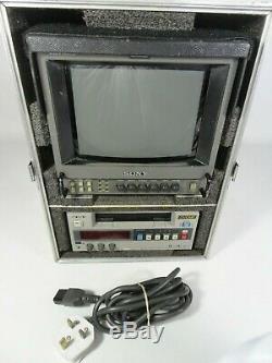 Sony DV-CAM DSR-20P Digital Video Cassette Recorder Mini DV CAM + Monitor & Case
