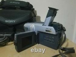 Sony Digital Handycam Vision Video Camera Recorder Hi8 DCR-TRV140