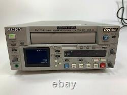 Sony Dsr-25 Digital Video Cassette Recorder Dvcam Video In Description