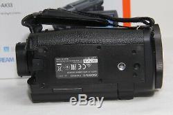 Sony FDR-AX33 Digital 4K Video Camera Recorder MINT BOXED