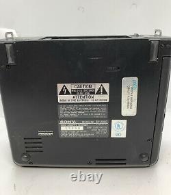 Sony GV-A500 Player Recorder Hi8 8mm Video Walkman NTSC Digital Transfer ERROR C
