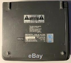 Sony GV-D200 Digital 8 NTSC Video Cassette Recorder UNTESTED