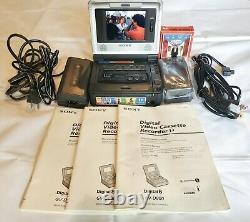 Sony GV-D800 Digital 8 NTSC 8mm Video Walkman Player Recorder With FREE Movie