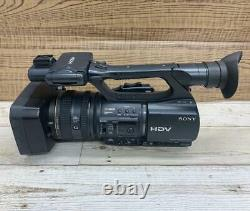 Sony HDR-FX1000 HDV Handycam Digital HD Video Camera Recorder without Battery