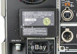 Sony HDW-F500 HDCAM HD Digital Recorder HDWF500 Unit 1 of 3