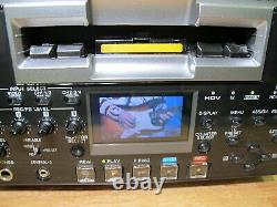 Sony HVR-1500 Digital HD Video Recorder with HD-SDI Outut Option Low hours