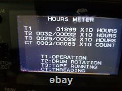 Sony HVR-1500 HDV/DVCAM 1080i, DIGITAL HD VIDEO CASSETTE RECORDER Firewire port