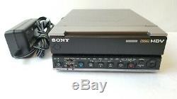 Sony HVR-M15AU NTSC/PAL 1080i HDV DVCAM DV Digital Video Recorder 20x10 drum hrs