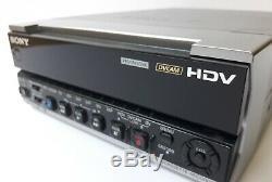 Sony HVR-M15AU NTSC/PAL 1080i HDV Digital Video Player Recorder 13x10 Drum Hrs