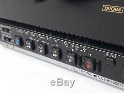 Sony HVR-M15U DVCAM HDV MiniDV Digital HD Video Cassette Recorder 21X10 DRUM HRS
