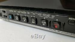 Sony HVR-M15U HDV DVCAM DV Digital Video Player Recorder 25x10 DRUM HRS 1394