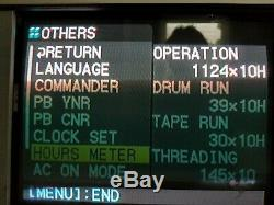 Sony HVR-M15U HDV DVCAM DV Digital Video Player Recorder 39x10 DRUM HRS ONLY