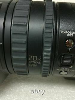 Sony HVR-V1U Camcorder Digital HD Video Camera Recorder HDV 1080i MiniDV withAC