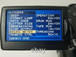 Sony HVR-Z1U HDV 1080i Mini DV Digital Video Camera Recorder HIGH DEFINITION